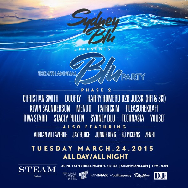 bluparty flyer