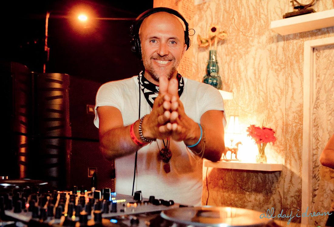 Lee Burridge at ADID Los Angeles, CA Photo courtesy of Ryan Jesena