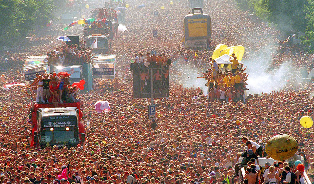 Love Parade, Berlin 1992