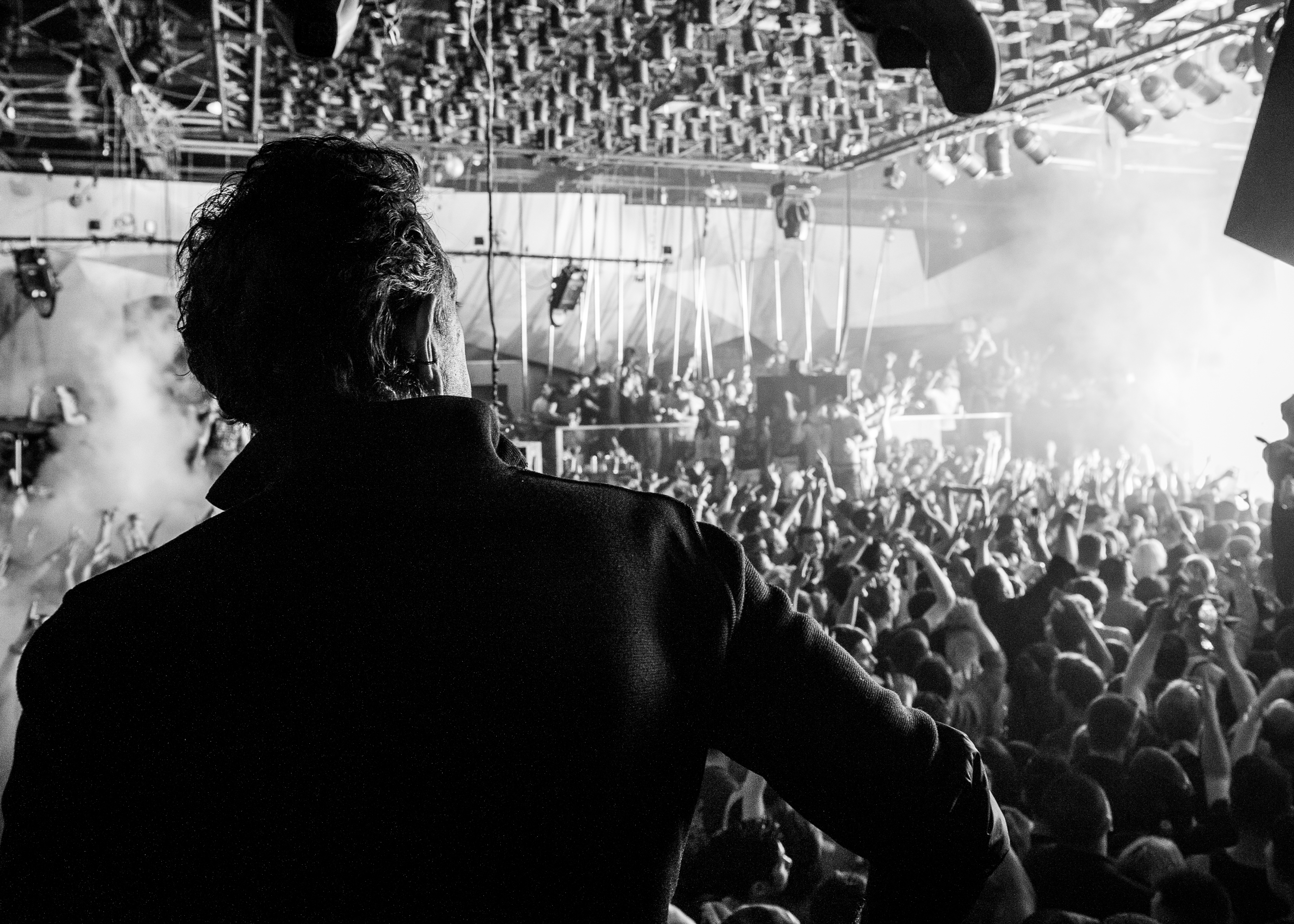 Charles Khabouth, owner of The Guvernment during the club's final event in Toronto 2014, photographed by Tobias Wang