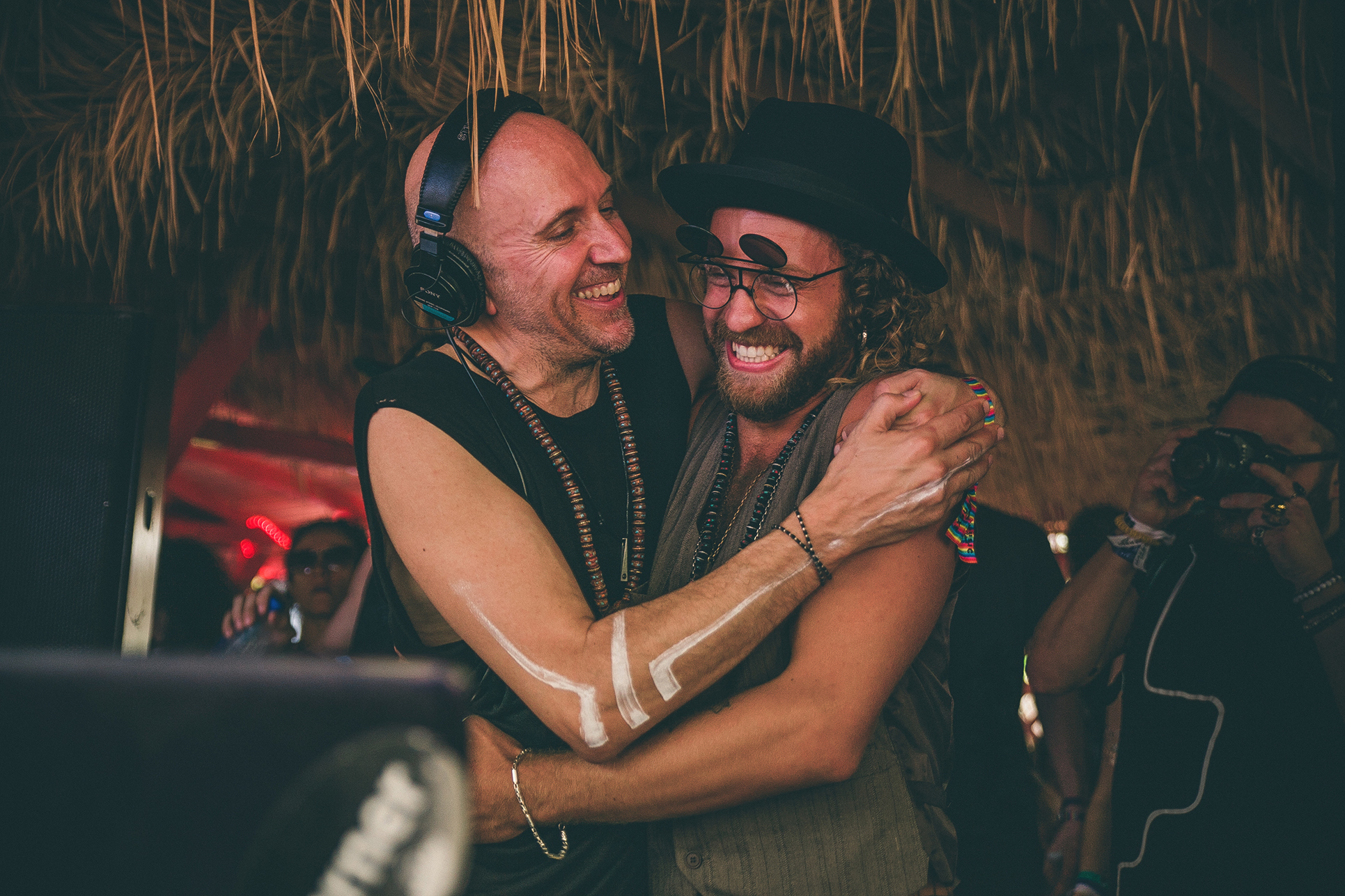 Lee Burridge & YokoO at SXM Festival 2015, photographed by Ded Agency
