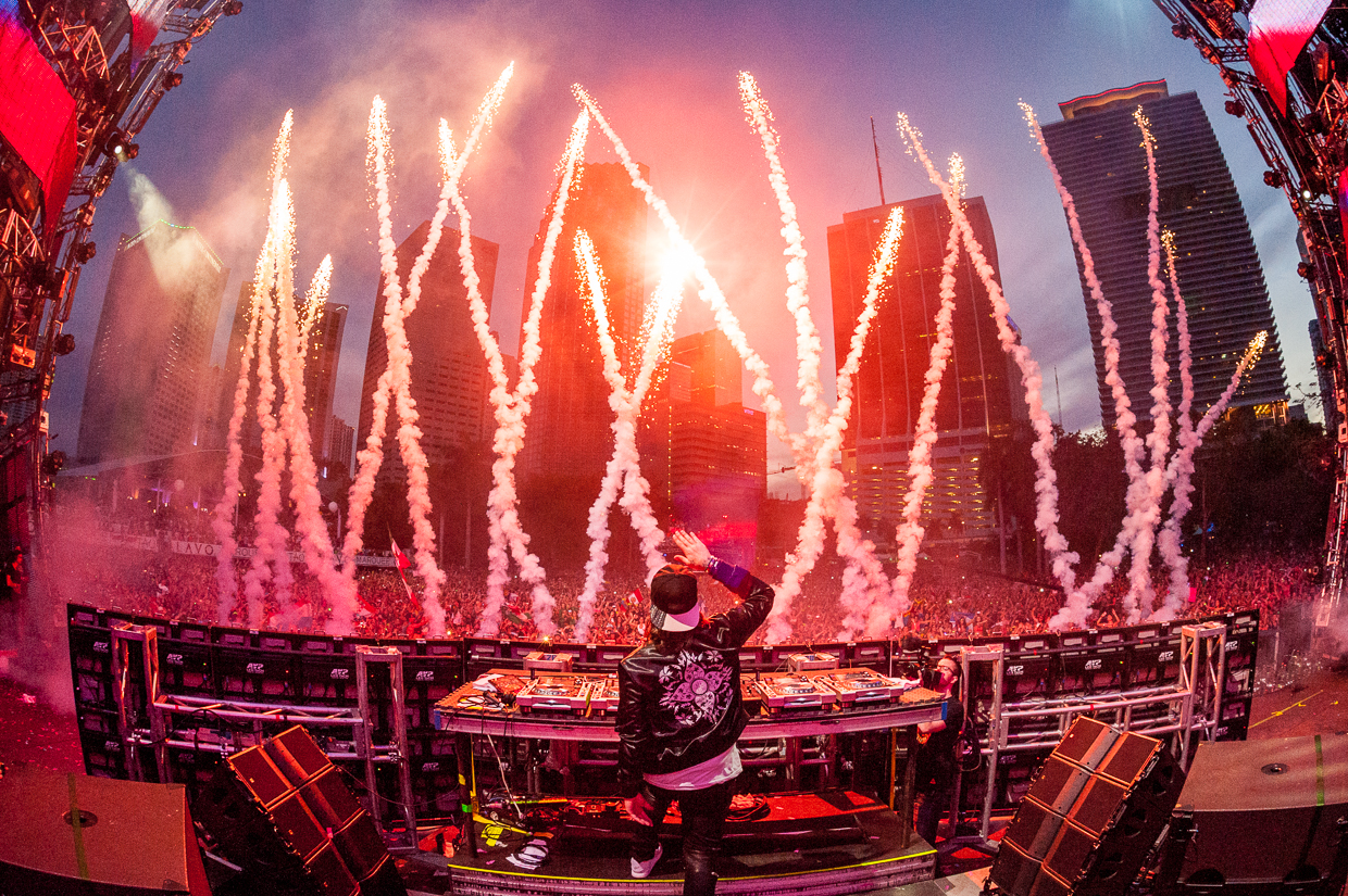 Steve Angello 'Return to Ultra' 2014, photographed by Tobias Wang