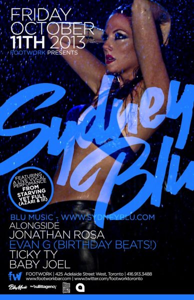 sydney blu footwork flyer
