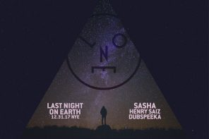 Spend Your Last Night on Earth NYE with Sasha, Henry Saiz and dubspeeka