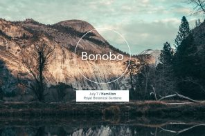 Bonobo Ends His Migration Tour at the Royal Botanical Gardens in Hamilton